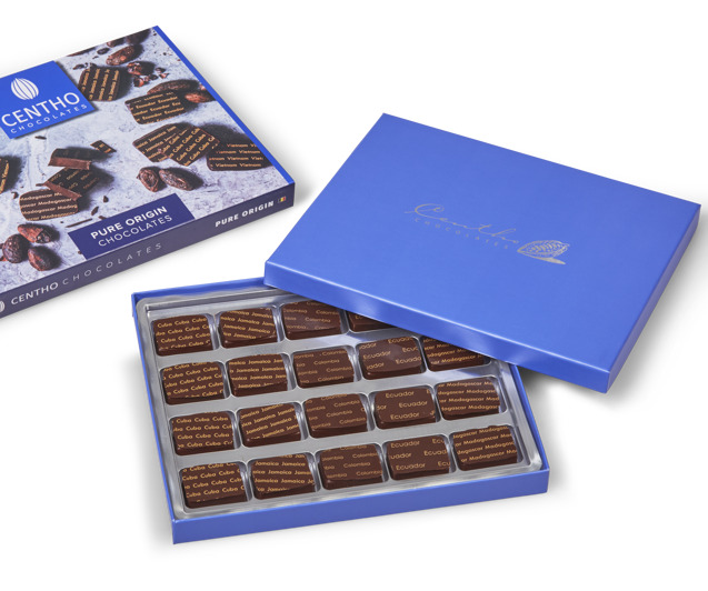 Origine chocolate pralines