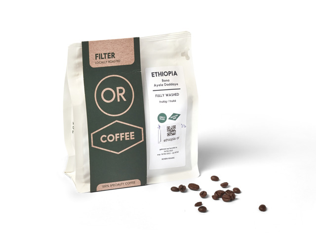 Ethiopia filter OR Coffee 250g